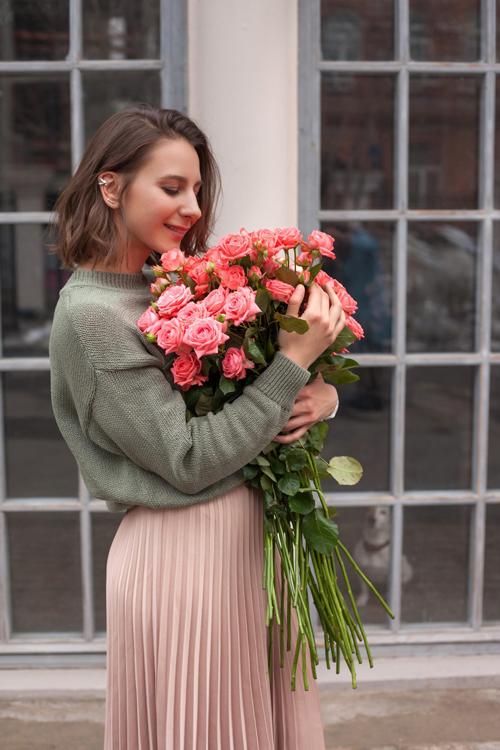 Свежие розы 1